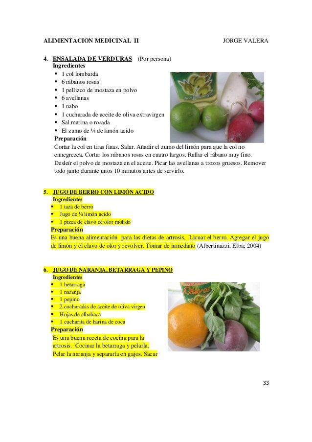 Alimentacion medicinal ii 16 enfermedades jorge valera - Alimentos para mejorar la artrosis ...