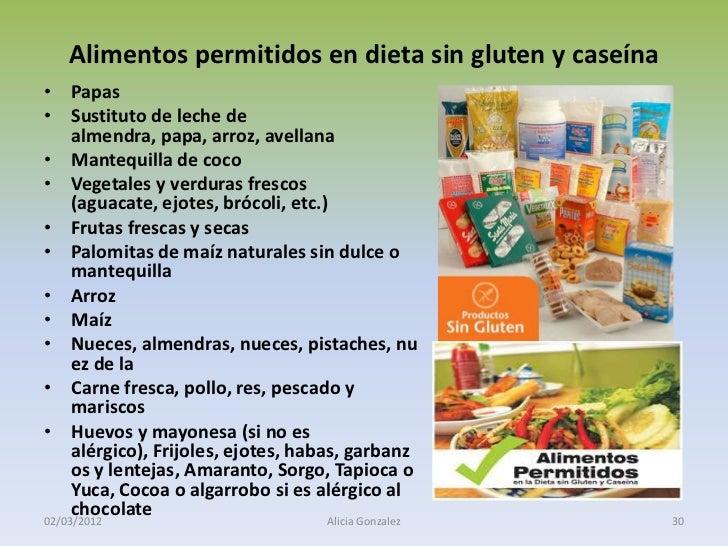 Alimentacion tratamientos biol gicos del autismo - Alimentos ricos en gluten ...