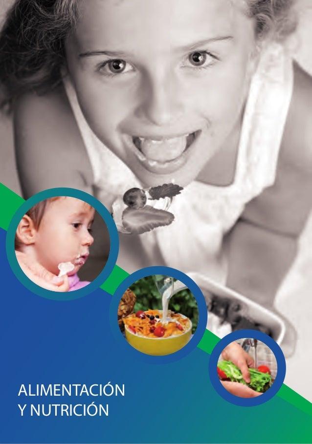 ALIMENTACIÓNY NUTRICIÓN