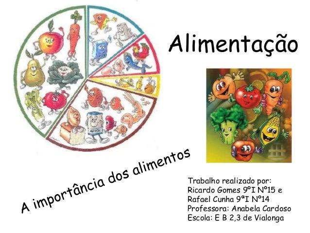 Trabalho realizado por:Ricardo Gomes 9ºI Nº15 eRafael Cunha 9ªI Nº14Professora: Anabela CardosoEscola: E B 2,3 de Vialonga...