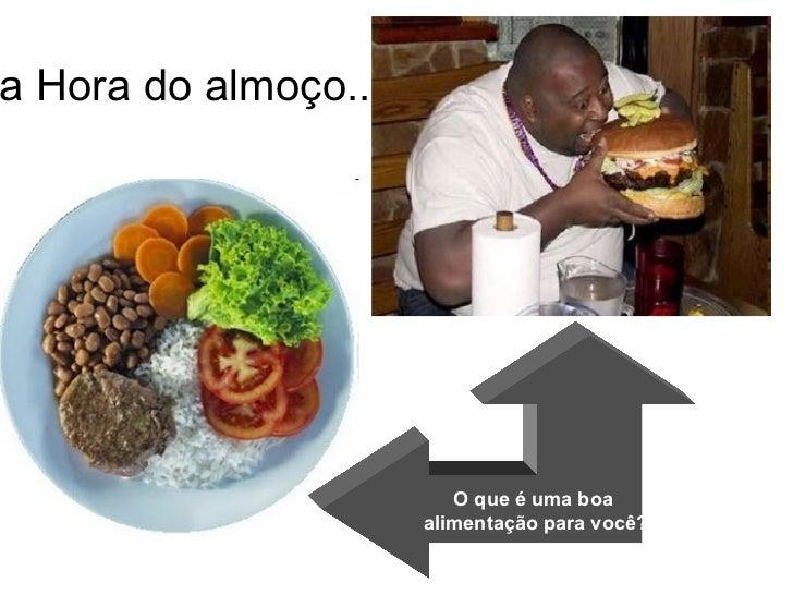 Alimentação, nutrição e saúde Slide 3
