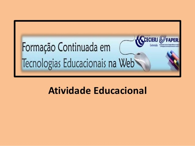 Atividade Educacional