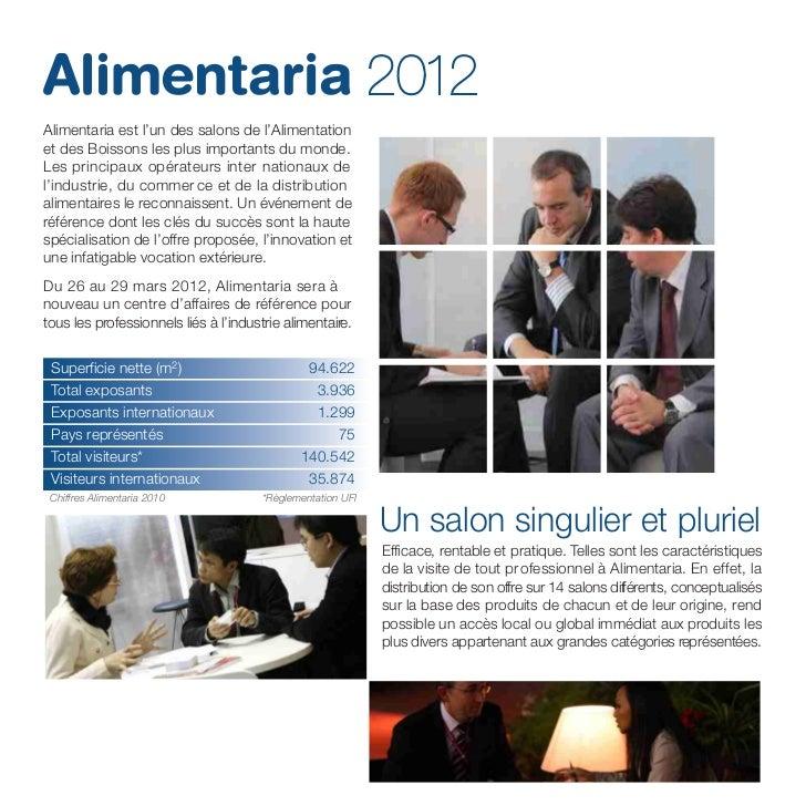 Alimentaria 2012 (Français) Slide 2