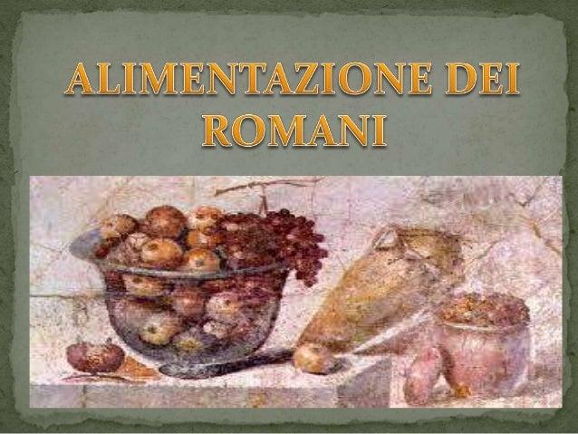Alimentazione roma for Ricette roma antica