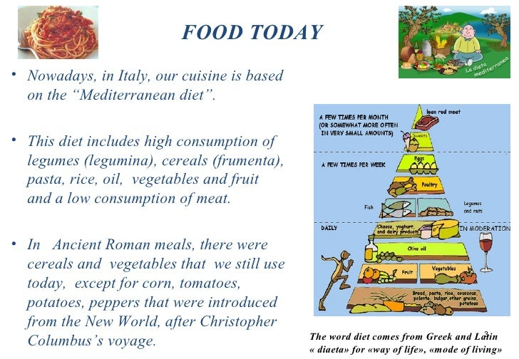 the similarities and differences between ancient roman meals and todays meals Welcome to water for sixth grade today, you will be comparing ancient rome with our world today, in 2010 luckily for you, i will provide articles for you to read about ancient rome that will help you find similarities and differences between ancient rome and today.