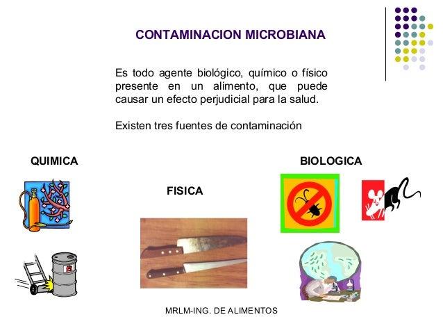 Alimentos - Fuentes de contaminacion de los alimentos ...