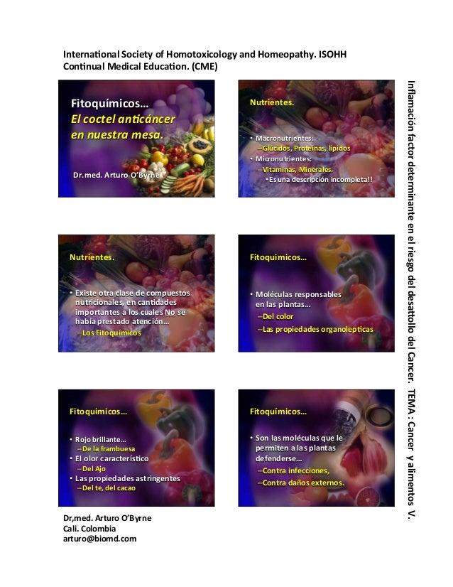 Interna'onal  Society  of  Homotoxicology  and  Homeopathy.  ISOHH   Con'nual  Medical  Educa'on.  (CM...