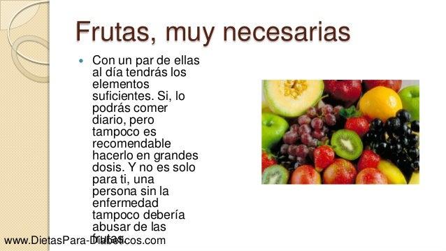 Alimentos aptos para diabeticos - Que comen los diabeticos