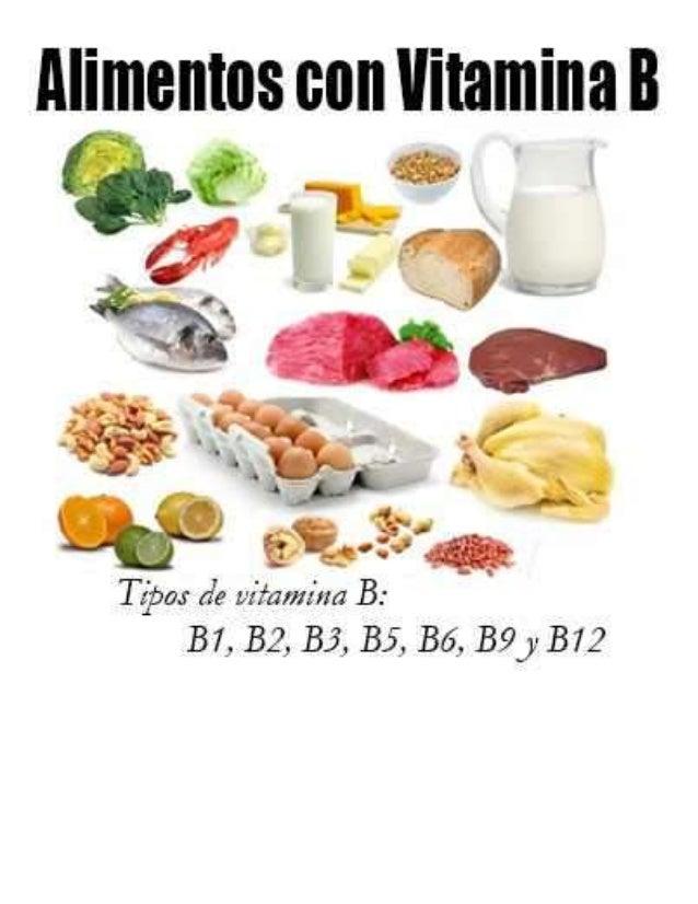 alimentos con vitamina a b c