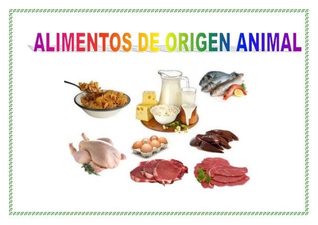 ALIMENTOS DE ORIGEN ANIMAL. LEGUMBRES Y CEREALES