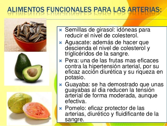 Alimentos funcionales platica