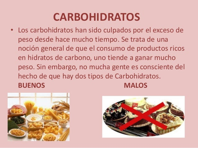 Alimentos liesel - Que alimentos contienen carbohidratos ...
