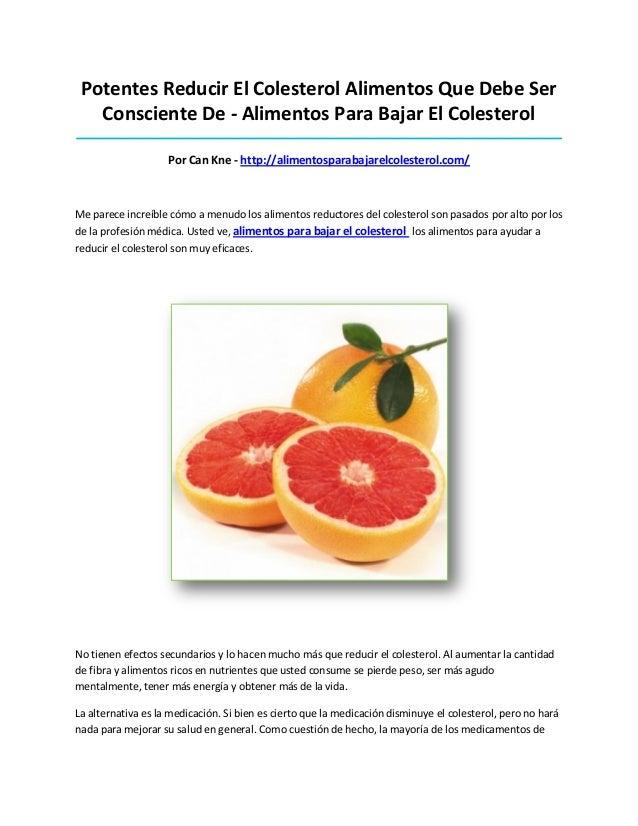 Potentes Reducir El Colesterol Alimentos Que Debe SerConsciente De - Alimentos Para Bajar El Colesterol___________________...