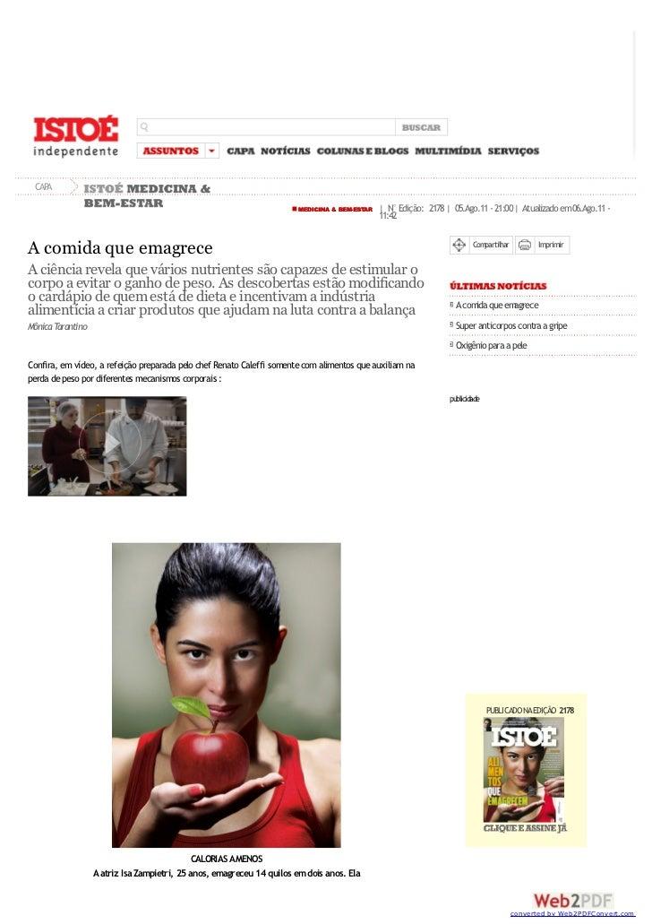CAPA                                                                       MEDICINA & BEM-ESTAR   | N° Edição: 2178 | 05.A...
