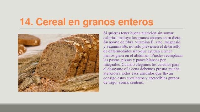 Alimentos que queman grasas - Alimentos que ayudan a quemar grasa abdominal ...