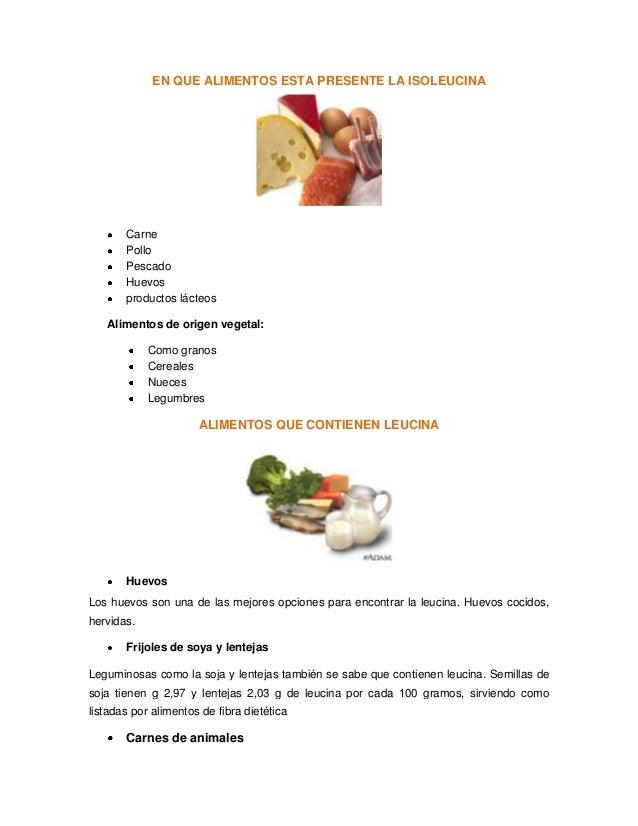 Alimentos ricos en aminoacidos esenciales - Alimentos que tienen fibra ...