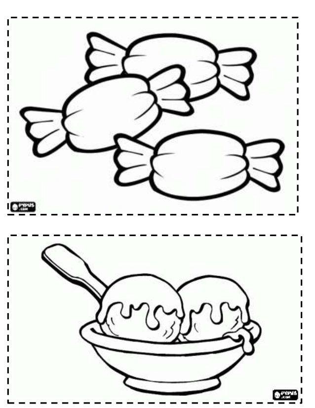 Best Imagenes De Alimentos Saludables Para Colorear E Imprimir Image