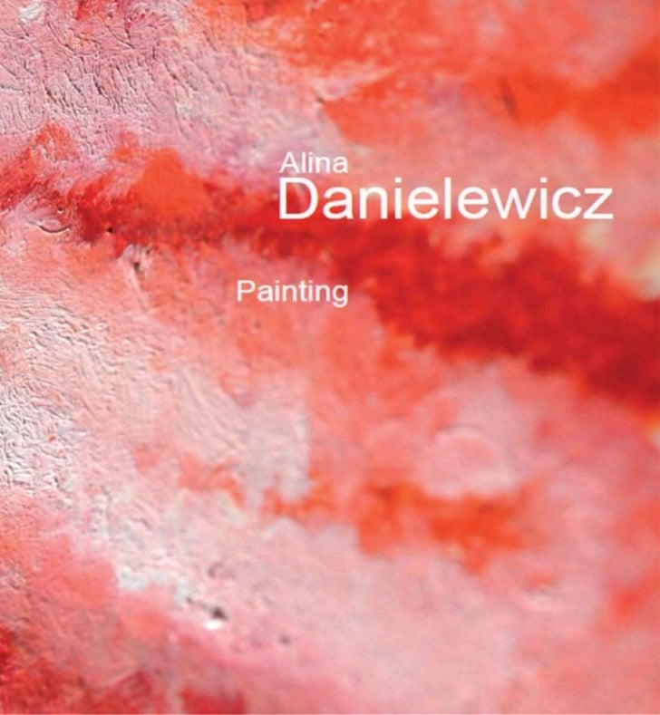 Alina danielewicz book painting 2012
