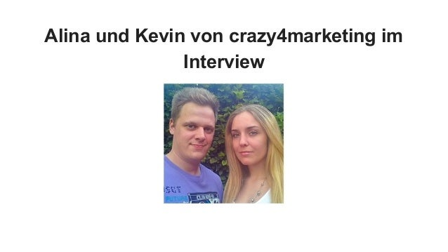 Alina und Kevin von crazy4marketing im Interview