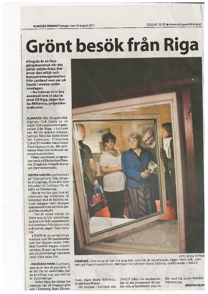 Alingsas tidning 2011.08.26