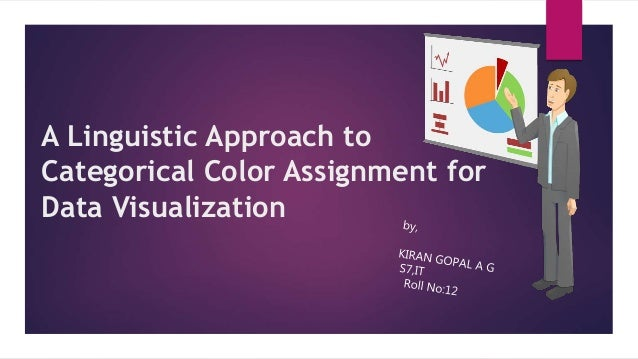 A Linguistic Approach to Categorical Color Assignment for Data Visualization
