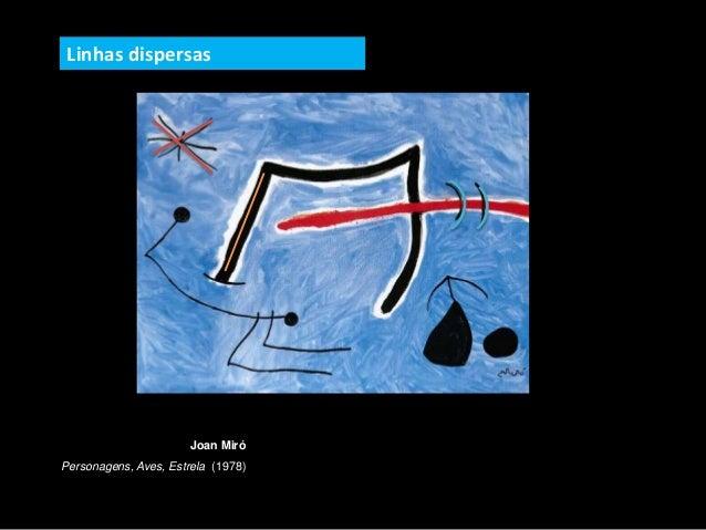 Joan Miró Personagens, Aves, Estrela (1978) Linhas dispersas