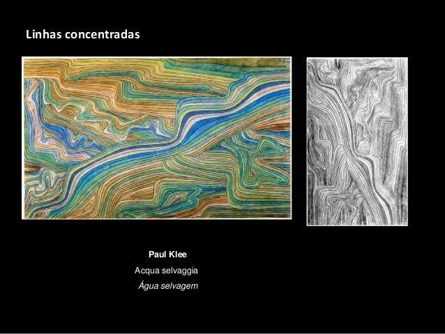 Paul Klee Acqua selvaggia Água selvagem Linhas concentradas