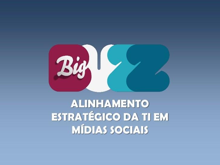 ALINHAMENTOESTRATÉGICO DA TI EM    MÍDIAS SOCIAIS