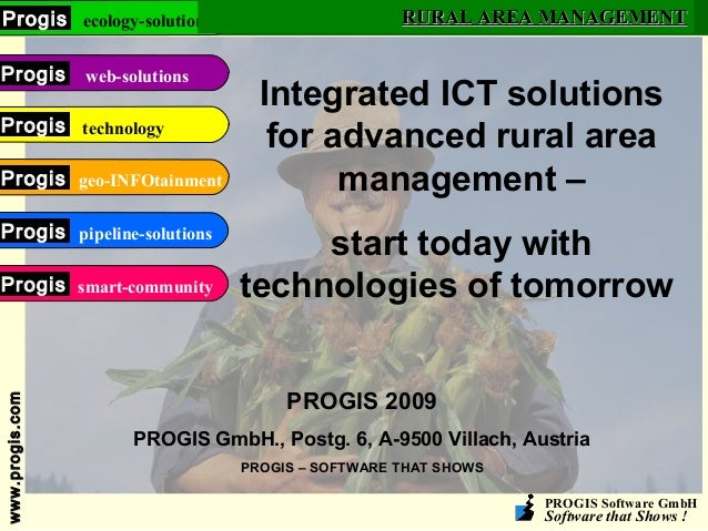 PROGIS Software GmbH Software that Shows ! www.progis.comwww.progis.com ecology-solutionsProgis web-solutionsProgis techno...