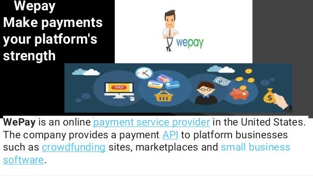 Alipay and wepay