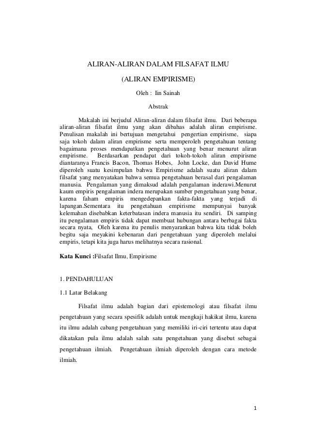 Contoh Makalah Filsafat Ilmu Pdf Download Contoh Lengkap Gratis