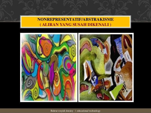 Contoh Lukisan Representatif Dan Nonrepresentatif - Contoh ...