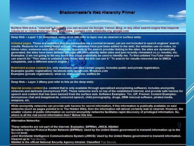 Ali shahbazi khojasteh - deep web