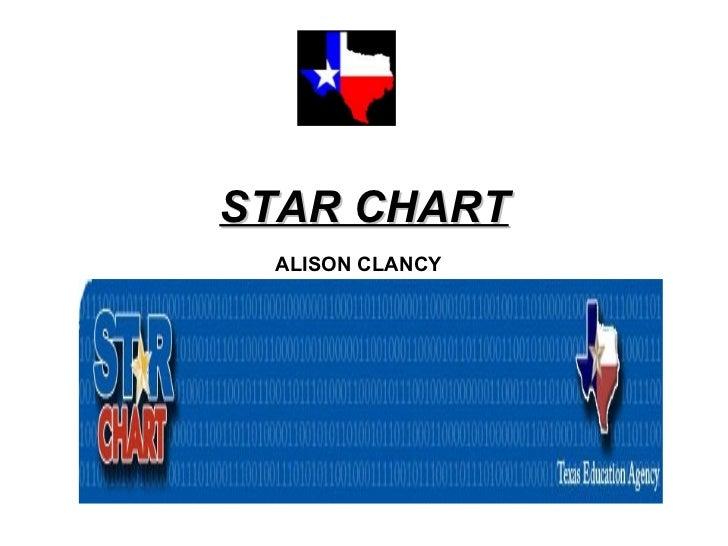 STAR CHART ALISON CLANCY