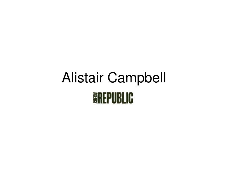 Alistair Campbell<br />