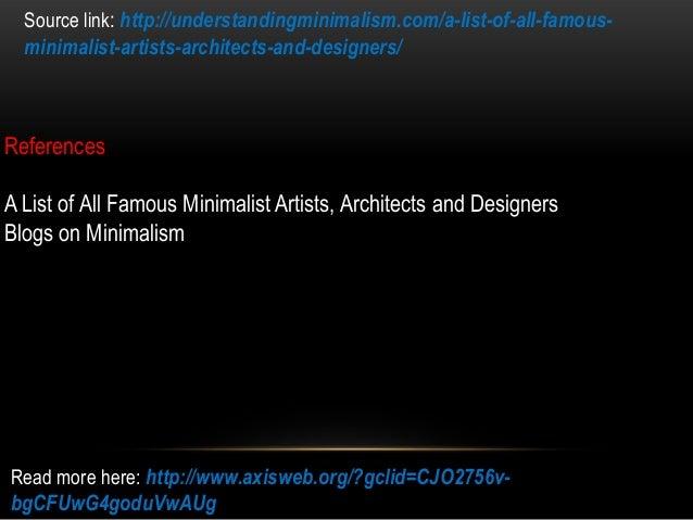 A list of all famous minimalist artists architects and for List of famous architects