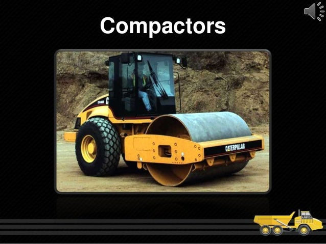 types of heavy construction equipment