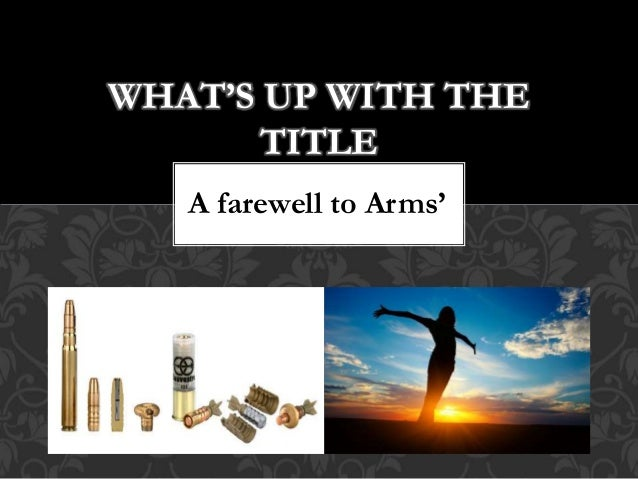 irony in a farewell to arms