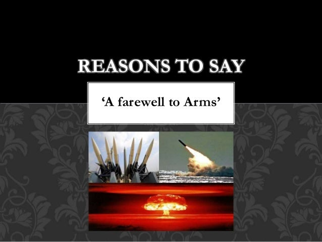 significance of the title a farewell to arms