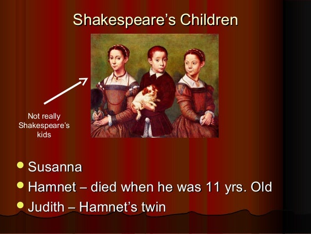 A Little Bit About Shakespeare For Ffp S Amnd Discussion