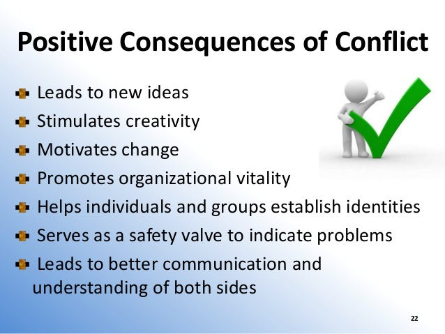 Consequences of Conflict in the Workplace