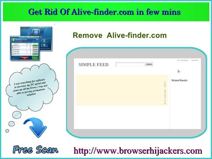 Get Rid Of Alive­finder.com in few mins               Get Rid Of Alive­finder.com in few mins                             ...