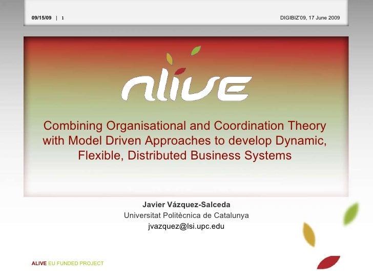 <ul><li>Javier Vázquez-Salceda </li></ul><ul><li>Universitat Politècnica de Catalunya </li></ul><ul><li>[email_address] </...
