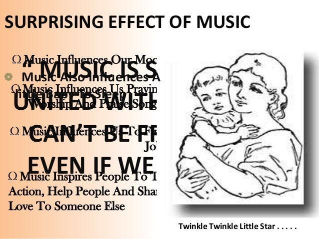 musics effect on people Beneficial effects of music - how music affects our health and brain, including  music every morning and evening, people with high blood pressure can train.