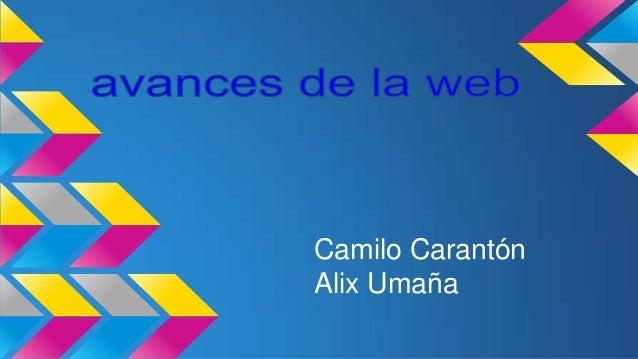 Camilo Carantón Alix Umaña