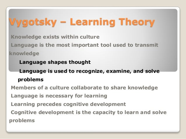 vygotsky the social connection Table of contents • the social development theory• the social development theory cont• link between vygotsky and classroom technology• connection• what we have tried.
