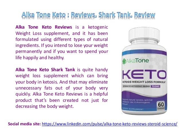 Alka Tone Keto Reviews is a ketogenic Weight Loss supplement, and it has been formulated using different types of natural ...