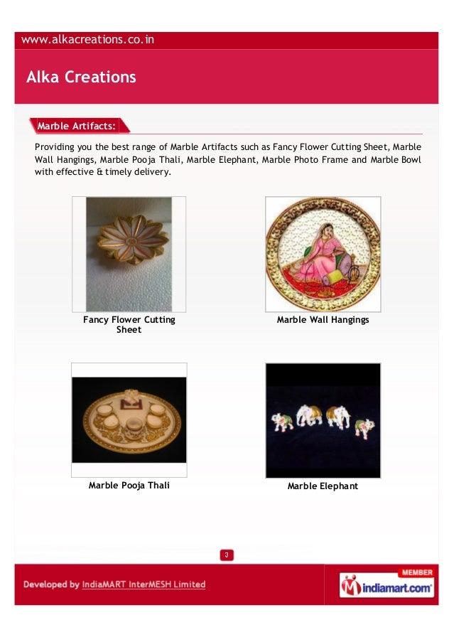 Alka Creations, Jaipur, Marble Pots Slide 3