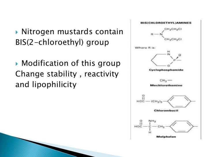 nitrogen mustards