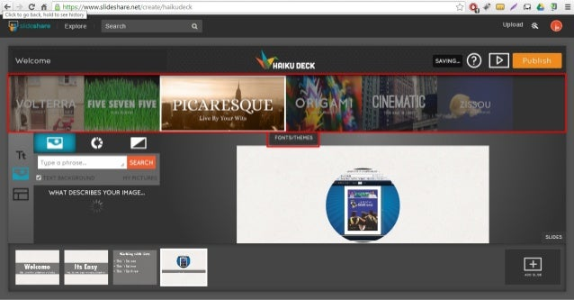 Create powerful presentations online with slideshare for Draw online share